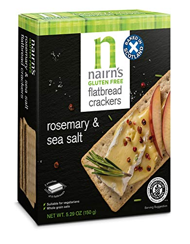 Nairn's Gluten Free Rosemary & Sea Salt Flatbread, 5.29 Oz