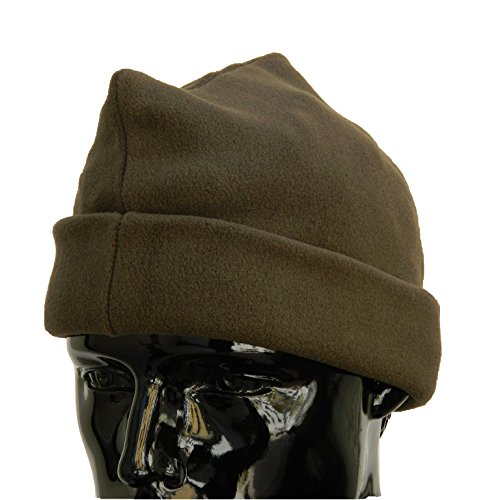OUTLET MILITARY Cappello 3 Punti in Pile Antipilling Verde