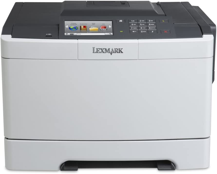 Lexmark CS517de Color Laser Printer, Network Ready, Duplex Printing and Professional Features