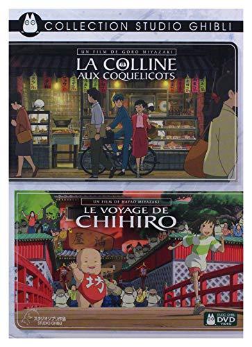 Coffret Ghibli 2 Films : la Colline aux Coquelicots Le Voyage de Chihiro