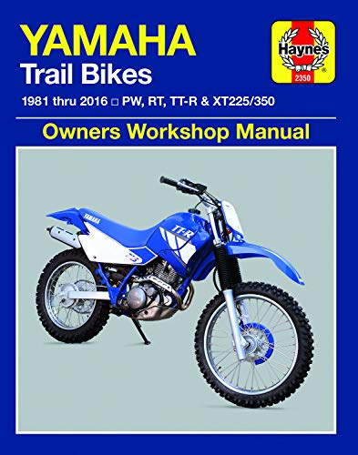 Yamaha Trail Bikes ('81-'16): Does Not Include 2003 Tt-R90e Models. Includes Thorough Vehicle Coverage Apart from the Specific Exclusion Noted (Haynes)