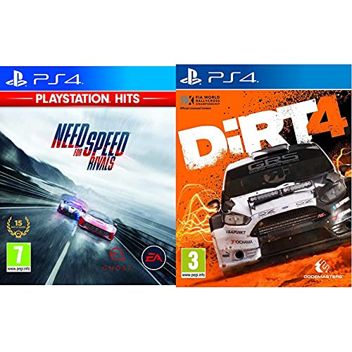 Electronic Arts Need For Speed Rivals + Codemasters Dirt 4