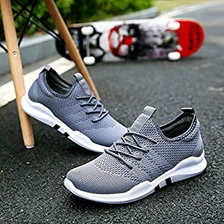 SKLT Summer Men's Sneakers Flying Woven Casual Unisex Loves Shoes Men Breathable