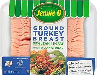 Jennie-O Extra Lean Ground Turkey Breast, 16 Ounce (1 pound)