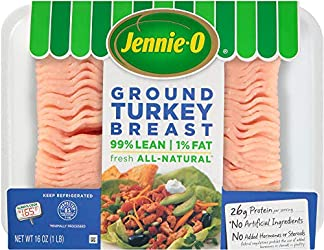 Jennie-O Extra Lean Ground Turkey Breast, 16 Ounce (1 pound)