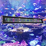 "Yescom Multi Color Aquarium Light 156 Bright SMD5730 LED Lighting Over-Head Lamp 100-127cm(40-50"")"