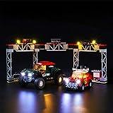 icuanuty Kit de Iluminación LED para Lego 75894, Kit de Luces Compatible con Lego Speed Champions - Mini Cooper S Rally de 1967 y Mini John Cooper Works Buggy de 2018 (No Incluye Modelo Lego)