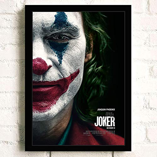 oioiu Film und TV lustige Superstar Joker Joaquin Phoenix Heath Ledger Film Gold Mann Comic-Druck Wandmalerei Leinwand Wohnzimmer Poster Home Decoration
