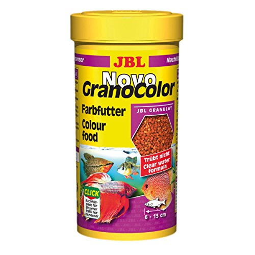 JBL Comida de Colores para Peces de Acuario, granulado, novogranocolor ⭐