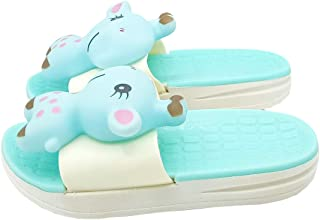 Mag Creations Giraffe Kids Flip Flop Slipper for Girls and Boys (1.5 to 7 Years)