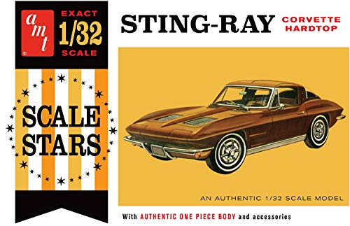 AMT AMT1112 1:32 1963 Corvette Stingray Hardtop, Multi
