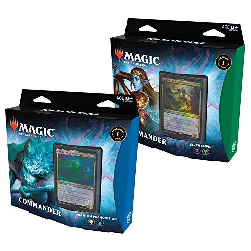Magic: The Gathering Kaldheim Commander | Both Decks