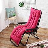 Ssskl 48x170cm sillón reclinable cojín de Respaldo Suave cojín Mecedora cojín de Banco reclinable cojín de Silla de jardín-13_48x125cm 1 Pieza
