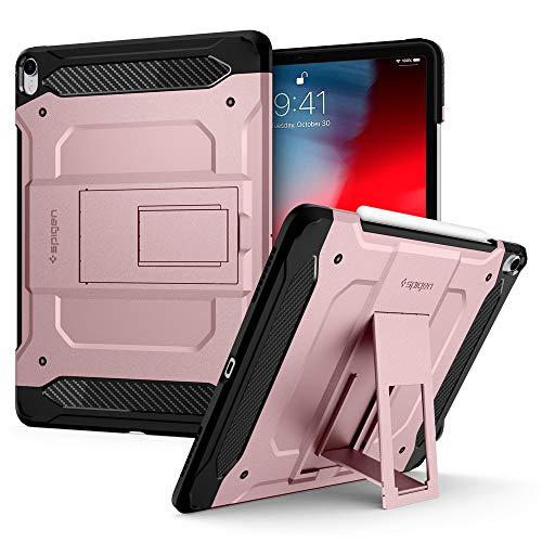"""Spigen iPad Pro 12.9"""" (2018) Back Cover Case Tough Armor TECH - Rose Gold"""