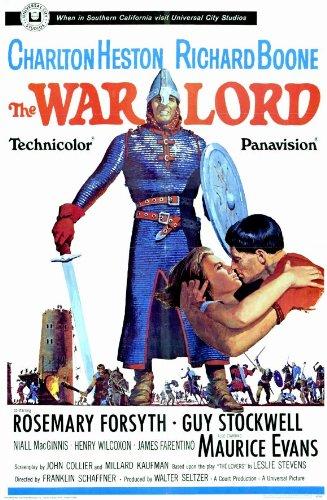 The War Lord Poster Movie 11x17 Charlton Heston Richard Boone Rosemary Forsyth Guy Stockwell