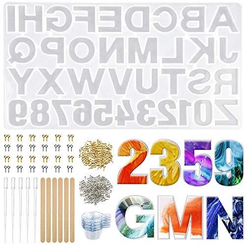 Lhedon -   232Pcs Buchstaben