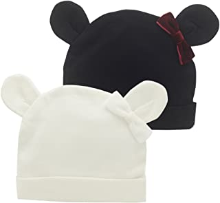 black baby hat with ears