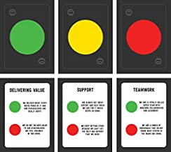 Squad Health Check Card deck for 8 players