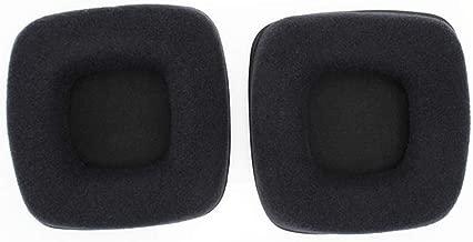 Rubsy 1 Pair Earphone Ear Pads Earpads Sponge Soft Foam Cushion Replacement for Razer Banshee Starcraft II Gaming Headset Headphones