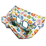 MagiDeal Shopping Cart Cover, 2 in 1 Baby Grocery Cart Seat Cover and High Chair Cover for Kids and Toddlers,...