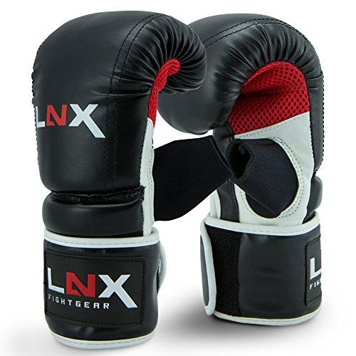 LNX Boxsackhandschuhe Performance Pro schwarz/rot/Weiss (001) M