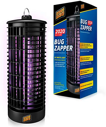 Crio Bug Zapper Indoor and Outdoor - Insects Killer - Fly Trap Outdoor Patio - Insect Killer Zapper - Mosquito Trap - Insect Zapper - Mosquito Attractant Trap - Fly Zapper - Bug Zapper Table Top