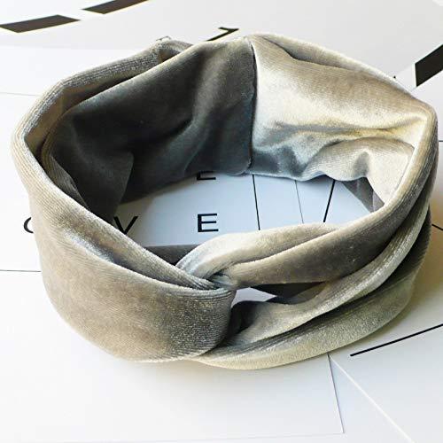 Qinqin666 Bandeaux Daim uni Twist Knot Bandeau élastique Wrap Turban Mesdames Cheveux Bande pour Femme (Color : Eye Mask, Size : One Size)