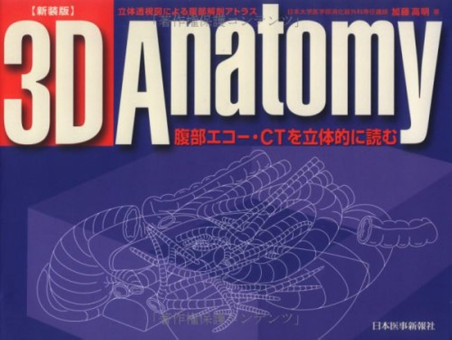 海洋の驚いたことにヒップ3D anatomy―腹部エコー?CTを立体的に読む