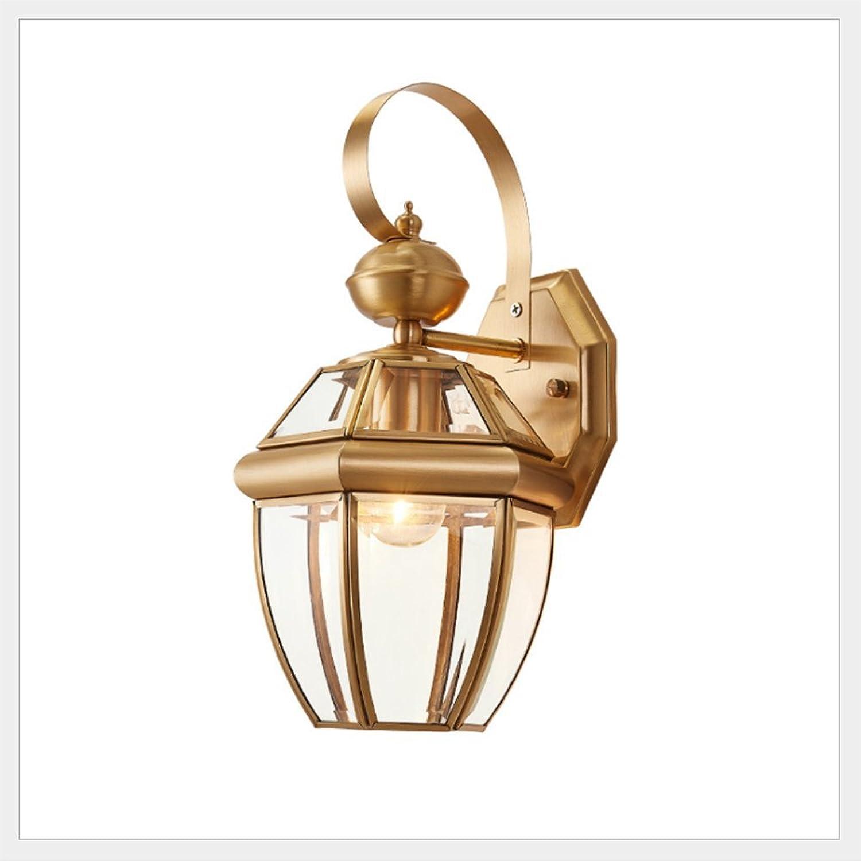 Xuqin Ingenieurwesen Wasserdicht Draussen Wandlampe Amerikanisch Reines Kupfer Jahrgang Lndlich Lndlich Terrasse Gang Eingang Gang Balkonleuchten Wandlampe