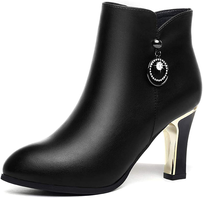 e546fd05e0c01 Plus Winter Fall Booties, Women's Velvet Artificial 36) Size Black ...