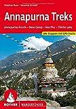 Annapurna Treks: Annapurna-Runde - Base Camp - Nar Phu - Tilicho Lake. Alle Etappen mit GPS-Tracks (Rother Wanderführer)