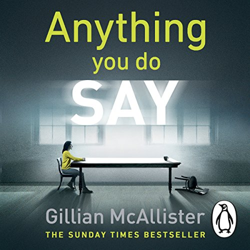 Anything You Do Say audiobook cover art