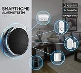 Platinum TUYA Smart WiFi Home Security Alarm System, Intelligent T30 Wireless Burglar Alarm, Free Alarm...