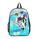 Dreamcosplay Anime Free! Iwatobi Swim Club Backpack Student Bag