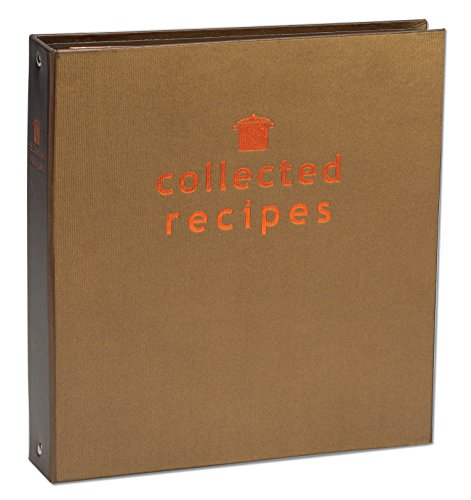Meadowsweet Kitchens Create Your Own Collected Recipes Cookbook - Brown \& Copper