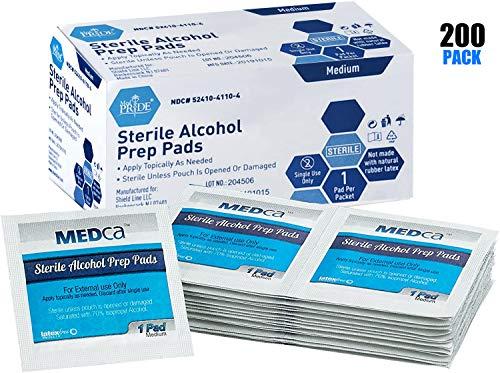 MEDca Alcohol Prep Pads