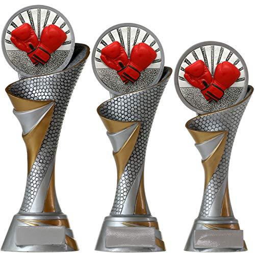 pokalspezialist Boxen FG Pokal L Trophäe mit Emblem 70 mm massiv