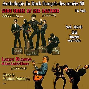 Anthologie des groupes de rock français des années 1960 - 16 Vol. - Vol. 10 / 16 ((26 Succès 1961-1962))