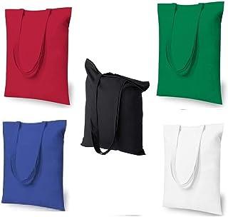 Tote Bag Tela Bolsas de Tela Para pintar Grande bolsa algodón de alta calidad La mejor para bricolaje pintura & comestible...