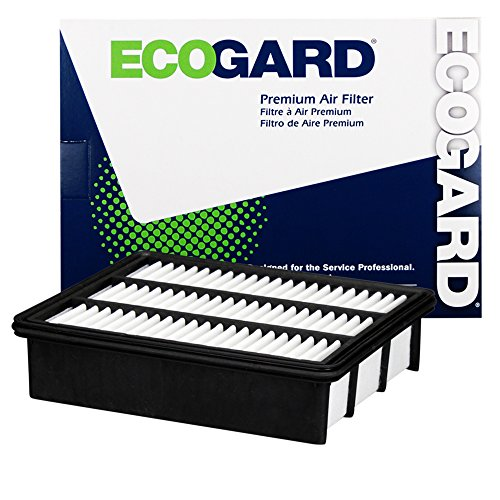 ECOGARD XA10597 Premium Engine Air Filter Fits Mazda CX-9 2.5L 2016-2019, 6 2.5L 2018-2019