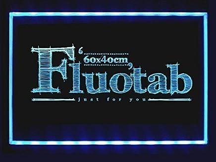 164c24b5d28678 FluoTab® - Tableau lumineux a LED / Ardoise lumineuse fluorescent a LED/  Tableau réinscriptible