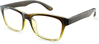 Rectangular Square Rim Eyeglasses Frames Glasses Clear Lens