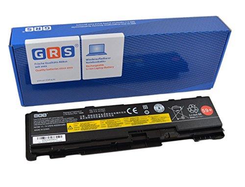 GRS Batterie pour Lenovo ThinkPad T400s, 51J0497, 42T4833, 42T4689, Laptop Batterie 3600mAh,10,8V/ 39Wh
