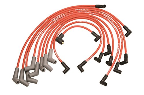 Ford Racing M12259R301 Spk Plug Wire 45D Red