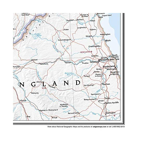 Scotland Classic, laminated: Wall Maps Countries & Regions (National Geographic Reference Map)