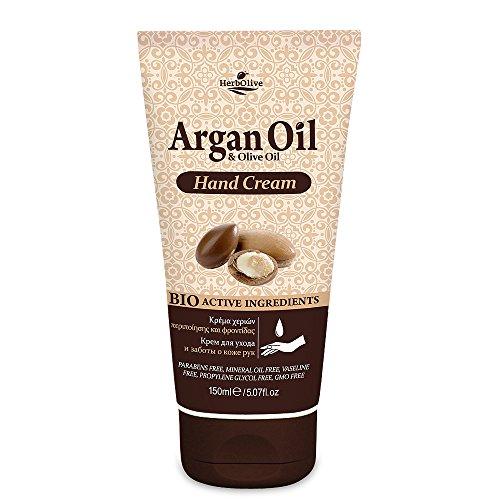 Herbolive Argan Handcreme, 1er Pack (1 x 150 ml)