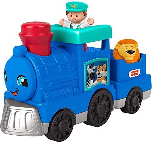 Fisher-Price Little People Animal Train  push-along musical toy for toddlers and preschool kids ages 1-5 years