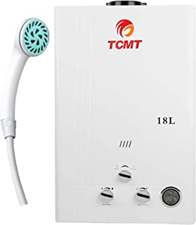 TC-Home 4.8GPM 18L Tankless LPG Liquid Propane Gas House Instant Hot Water Heater