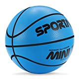 Stylife 5inch Mini Basketball for Kids, Inflatable Ball...