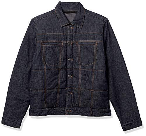 True Religion Herren Puffer Long Sleeve Jacket Parka, Körperspülung, Groß